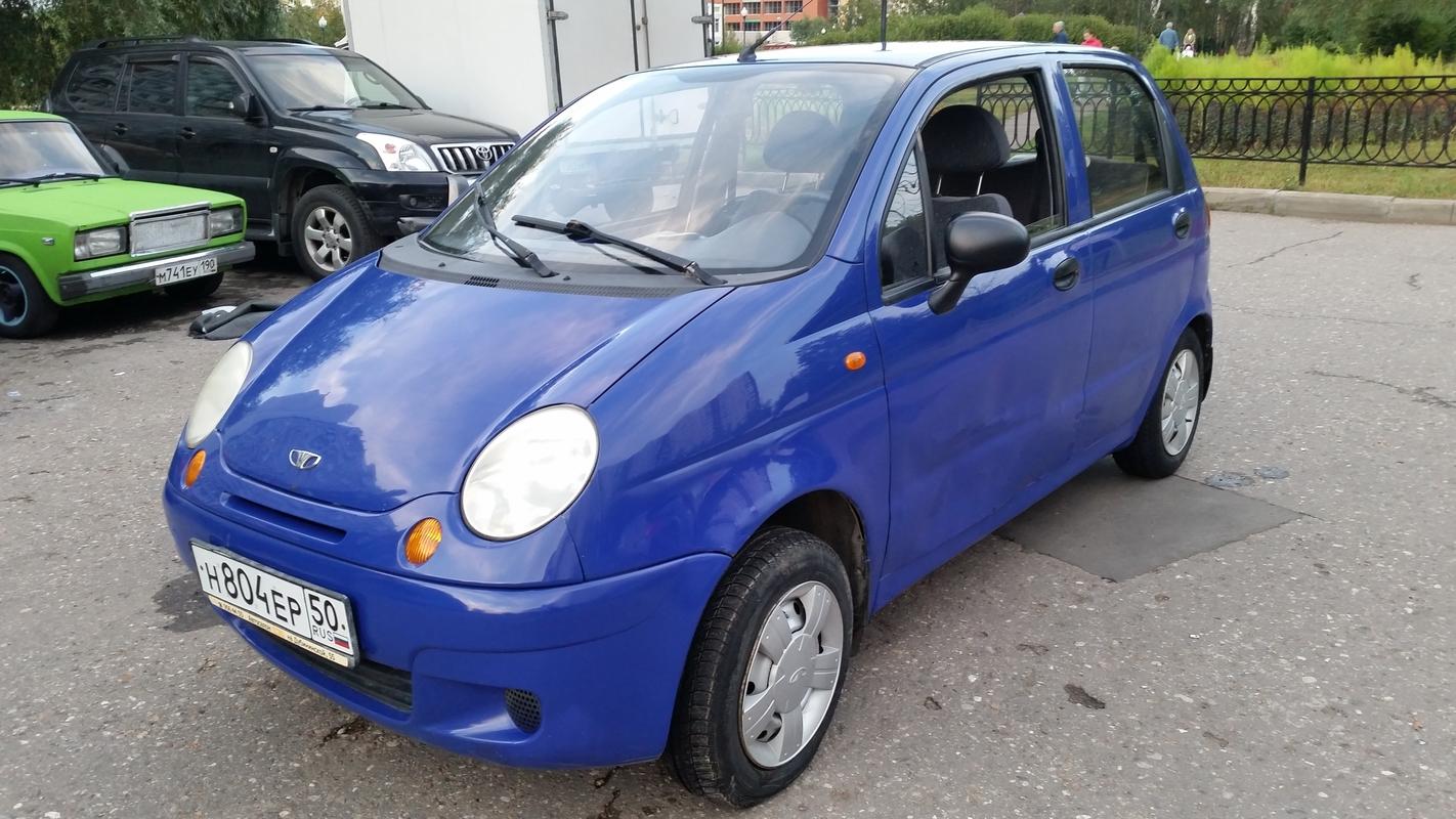 Выкуп авто Daewoo Matiz