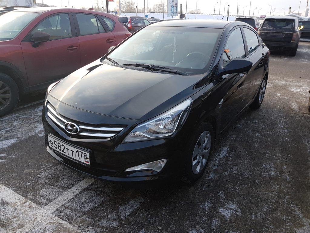 Выкуп авто Hyundai Solaris