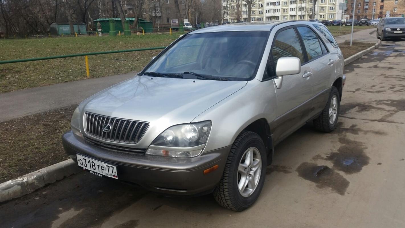 ВЫКУП КРОССОВЕРА LEXUS RX300 2003 Г.В.